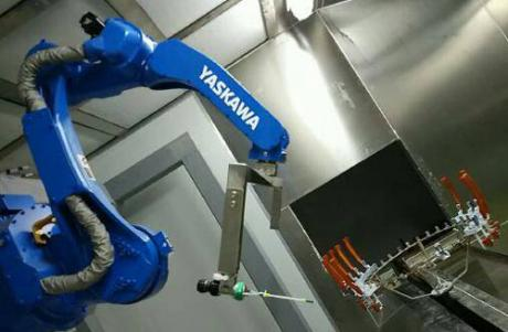 ainting robots Line for Plastic Parts